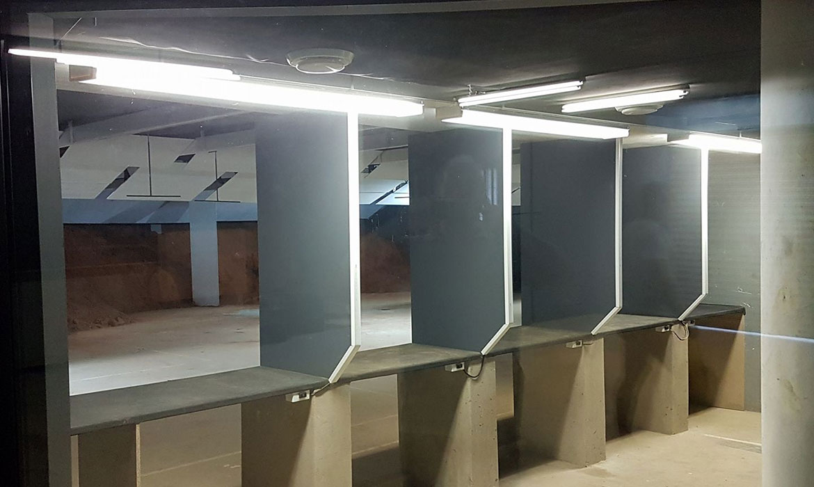 New Indoor Range and Shop