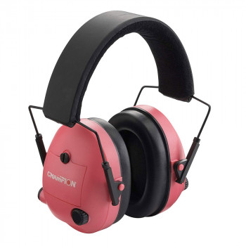 Champion Electronic Ear Muff Pink