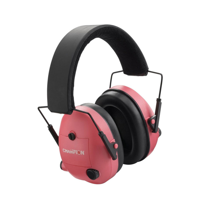 Champion Electronic Ear Muff Pink