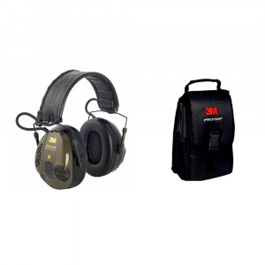 3m Peltor SporTac Ear Muffs and 3M Peltor Carry Ba...