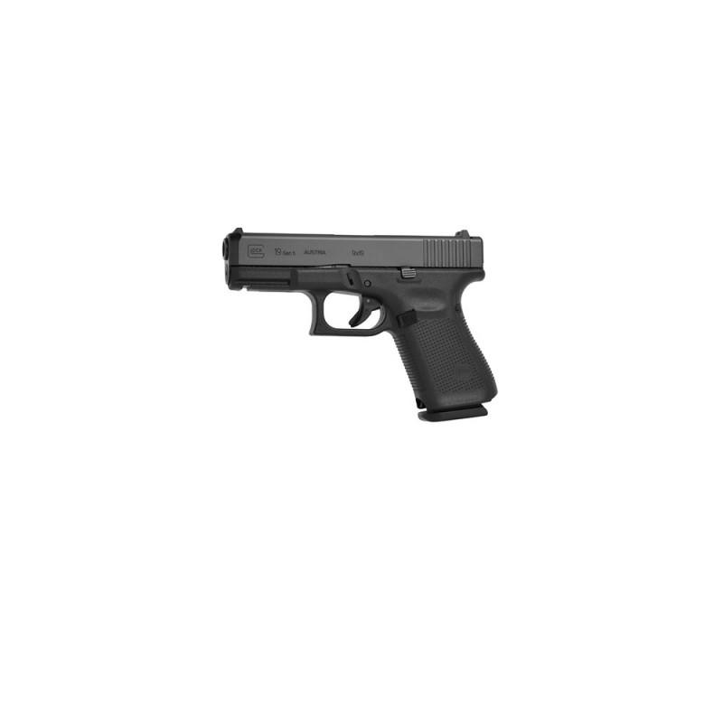 Glock 19 Gen 5 Pistol 9x19 Gun Range Hire