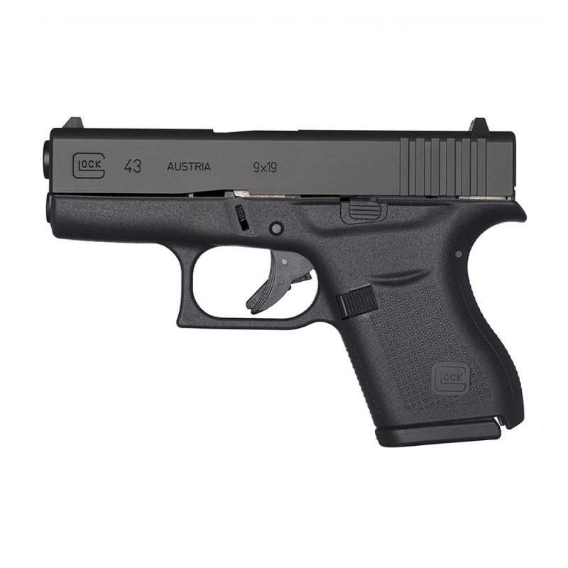 Glock 43 Pistol 9x19 Gun Range Hire