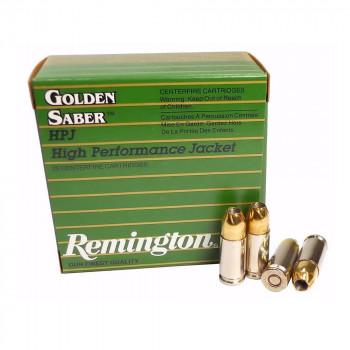 Remington Golden Saber High Perfornamce 9mm 147 gr...