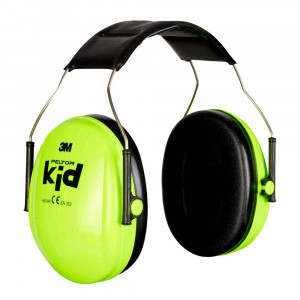 3M Peltor Kid Opitime Neon Green Ear Muffs