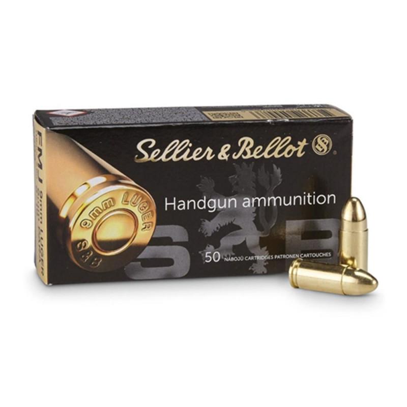 Sellier & Bellot Handgun ammunition 9mm luger 1000 Rounds