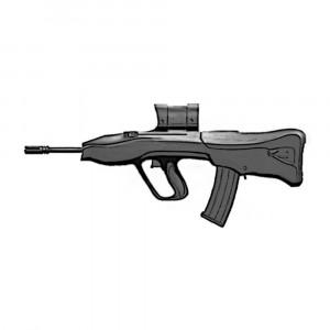Vektor CR21 Semi Auto 5.56mm Gun Range Hire
